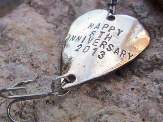 Eighth Anniversary Gift for 8th Wedding Anniversary Bronze Gift for H ...