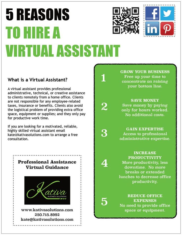 5 Reasons to Hire a Virtual Assistant Virtual assistant