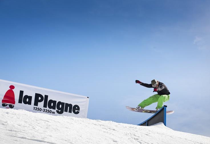 La Plagne - Snowpark