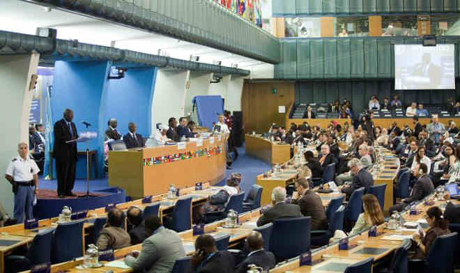 The Food and Agriculture Organization, the United Nations' international agency overseeing global food security and agriculture, meets in Rome in 2011.