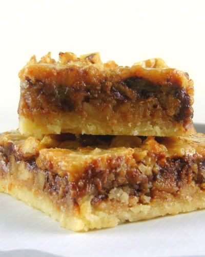 One Perfect Bite: Maple Chocolate Walnut Bars
