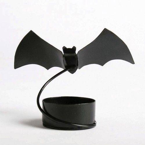Bat Tea Light Candle Holders