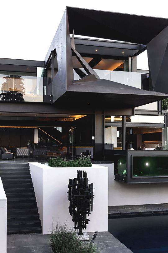 "luxuryera: "" Kloof Road House Designed by: Nico Van Der Meulen Architects """