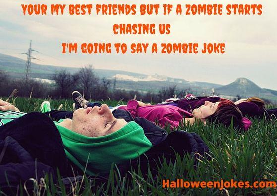 Zombie Chasing Us Humor #14