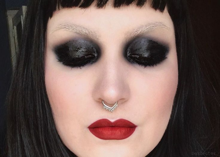 Resident makeup artist, Bex Lecter brings you her first full face tutorial, featuring bleached brows, red lips, and a glossy, smoky eye.