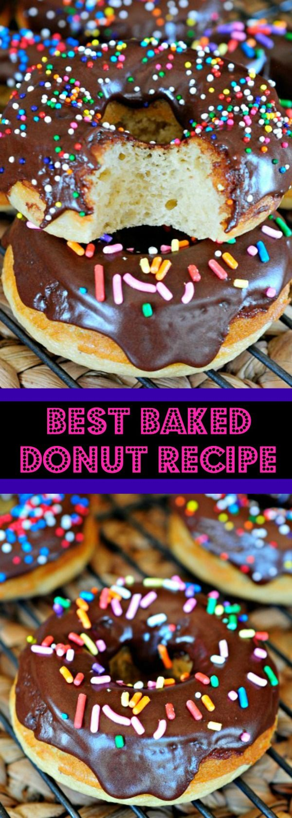 Best Baked Donut Recipe