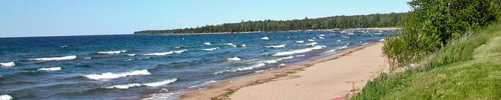Lodging on Lake Superior in the Upper Peninsula of Michigan