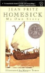 """""""Homesick: My Own story"""" by Jean Fritz 