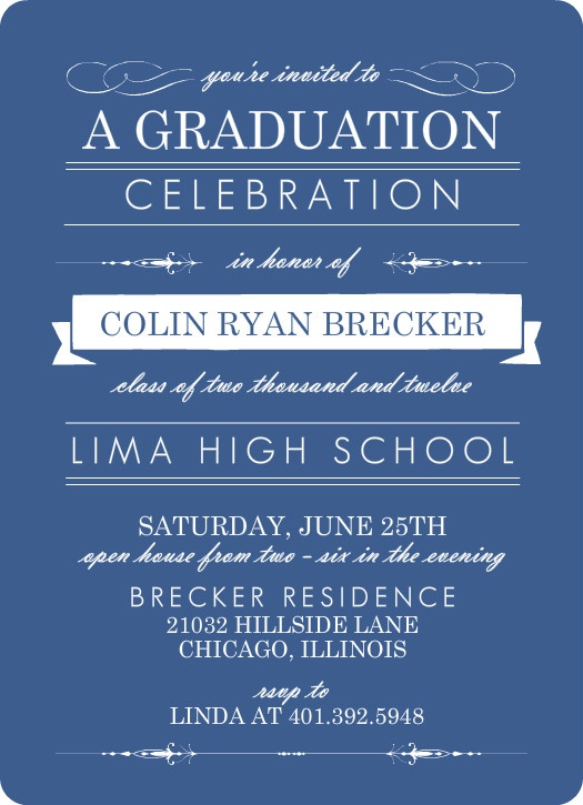 14 best Graduation Invite images on Pinterest Graduation - best of formal business invitation card