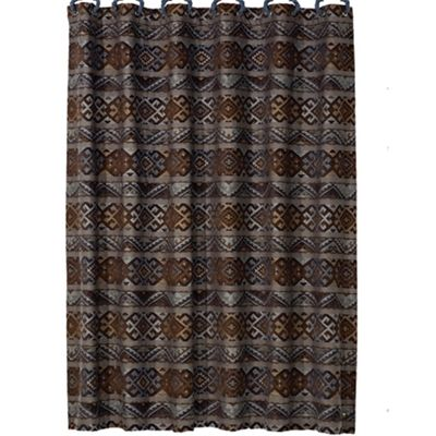 Rio Grande Southwestern shower curtain by HomeMax Imports - Hi End Accents