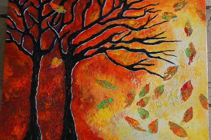 Autumn....acrylic on canvas 2014
