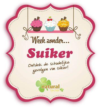 Doe gratis mee met de 'Week zonder Suiker'