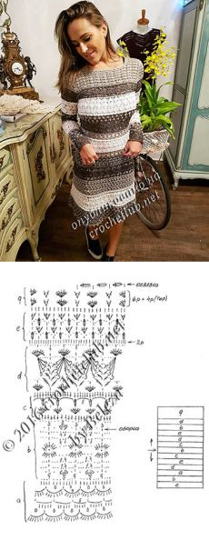 váy mới Vanessa Montoro - crochet.  Blog Nastika