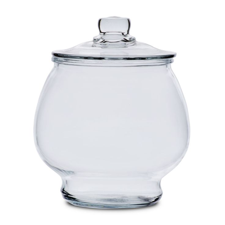 anchor hocking 88749r2 1 2 gallon glass jar with glass lid the o 39 jays jars and glasses. Black Bedroom Furniture Sets. Home Design Ideas