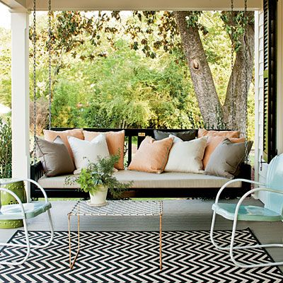 Front Porch swing- Southern Living