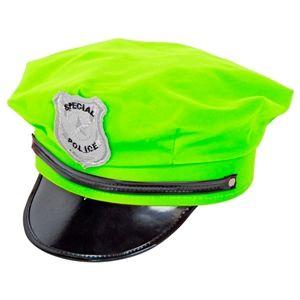 Neon grøn Politihat, se de selvlysende festartikler til udklædning og sjov. #neon #kostume