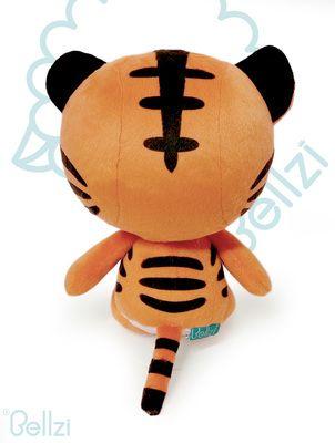 Bellzi® Cute Tiger Stuffed Animal Plush Toy - Tiggri