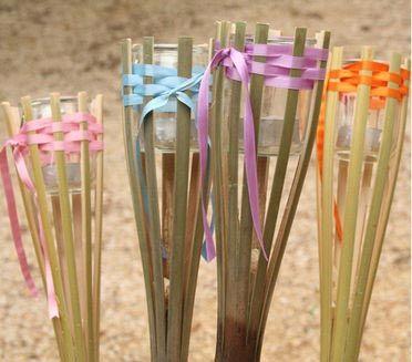 Torche de jardin, Tuto pour fabriquer - Loisirs créatifs