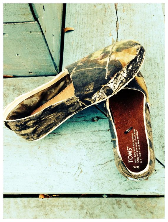 Mossy Oak Camo TOMS @Kathleen S S S S S S S S S Hambly for you Kathleen