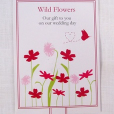 Wildflower Wedding Favour Seeds