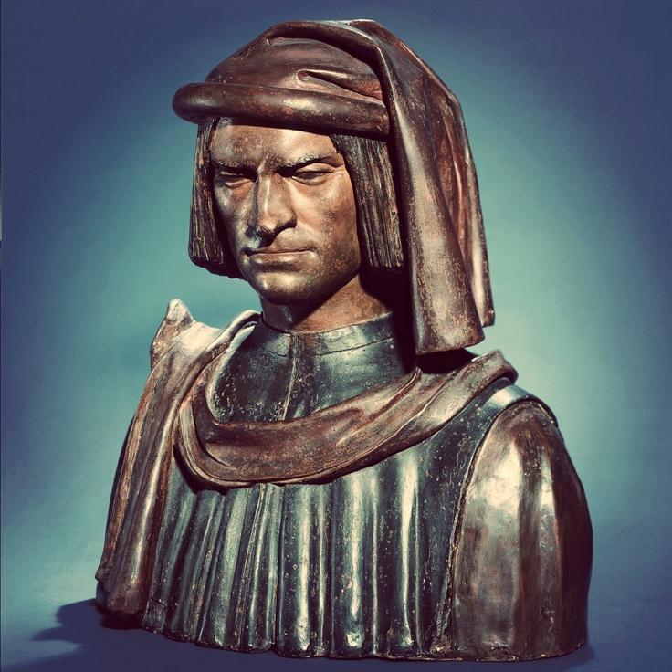 Andrea del verrocchio lorenzo de medicis bust 1480