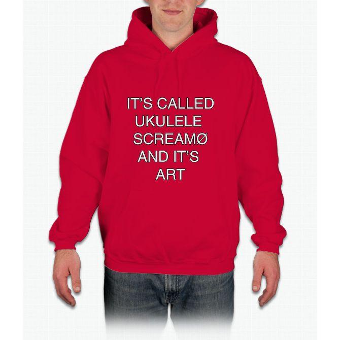 air jordan grey hoodie ukulele