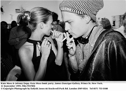 Image result for johnny depp and kate moss