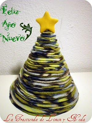 Tutorial arbol de navidad reciclado. DIY Christmas Tree recicled