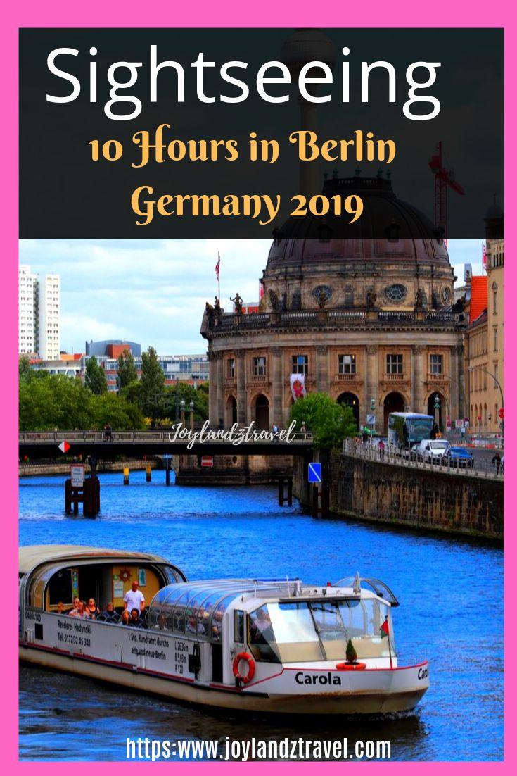 The Spree River in Berlin