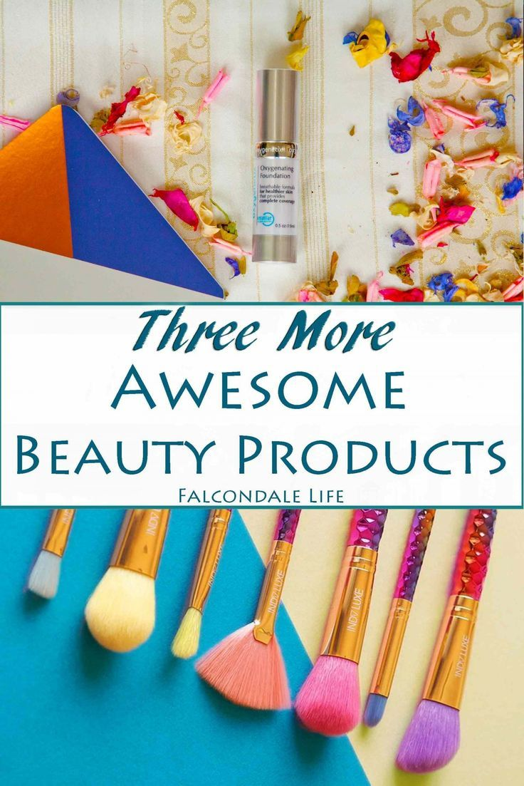 Three awesome beauty products June Roundup on Falcondale Life blog. Discover the foundation of Hollywood stars with Oxygenetix, a pearlescent face masque with Glam Glow and gorgeous makeup brushes from Indy Luxe, with exclusive discount code.