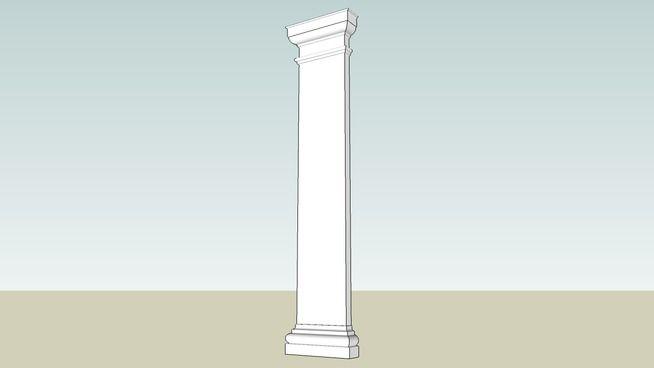 09 Fiberglass Column EP-105 - 3D Warehouse