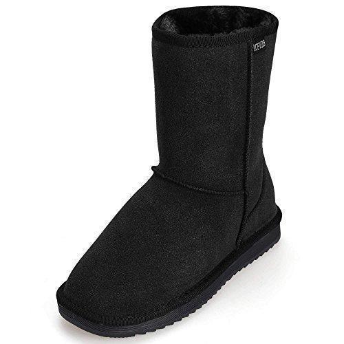 Oferta: 28.99€. Comprar Ofertas de ACEVOG Botas Planas de Nieve Zapatos de Invierno imitación UGG de invierno para mujer barato. ¡Mira las ofertas!
