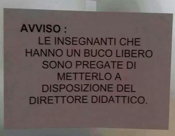 Essere disponibili  ...............................To be available