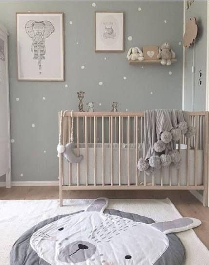 Baby Kinderzimmer Tapete geschlechtsneutral 66 neue Ideen ...