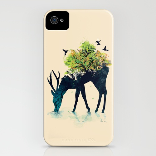 Watering (A Life Into Itself) iPhone Case