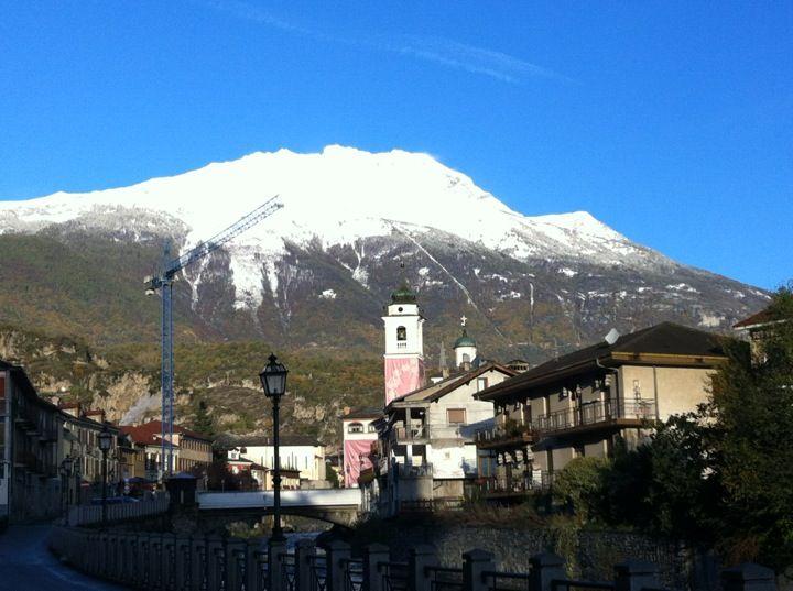 Susa ve městě Torino, Piemonte