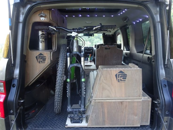 Fifth Element Camping Honda Micro Camper System