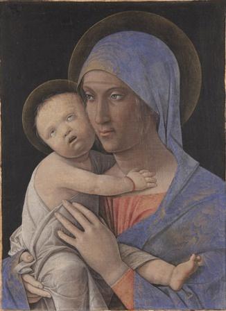 Andrea Mantegna Madonna con bambino