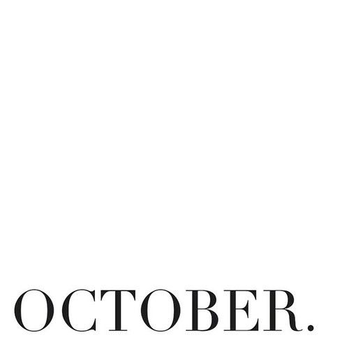 October. my Birthday Month.....Love this time of year all the way through New years eve