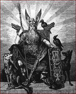El hombre y la mujer fueron creados a partir de los troncos de dos árboles inertes. Odín les infundió la vida. El dios Hoenir les dotó de alma y capacidad de juicio. Lodur les dio calor y belleza. El hombre fue llamado Ask (de Ash, ceniza) y la mujer Embla (parra), y de ellos desciende la raza humana.