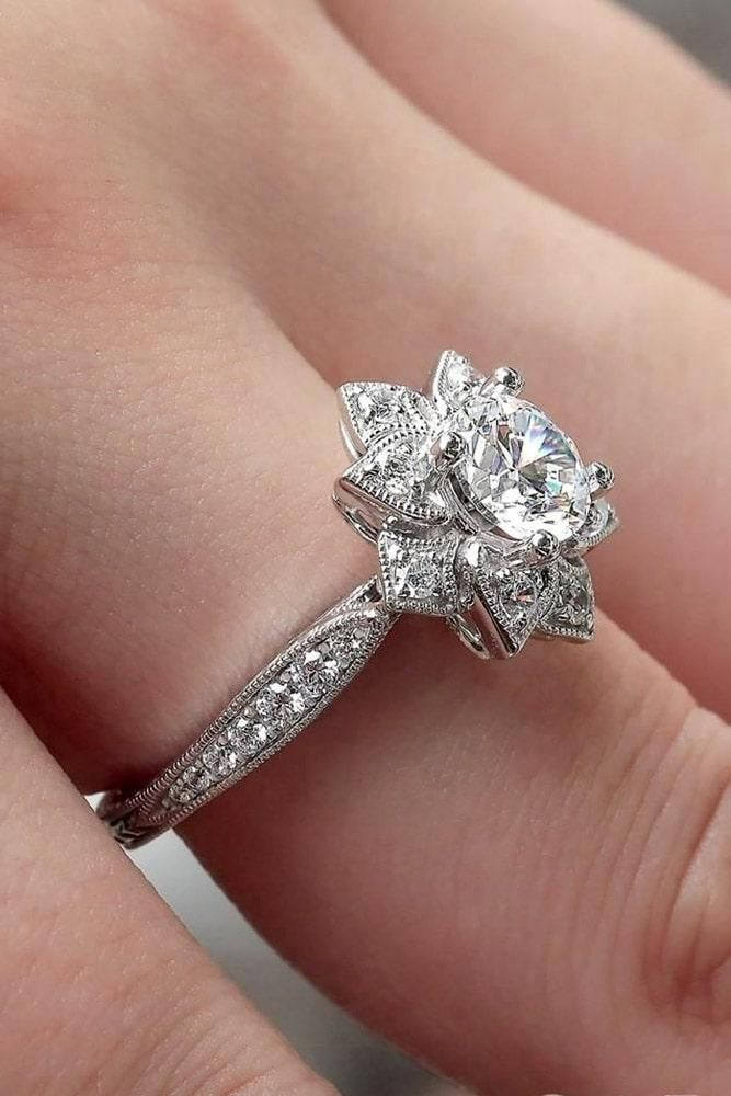 27 Unique Engagement Rings That Will Make Her Happy Expensive Engagement Rings Unique Engagement Rings Vintage Engagement Rings