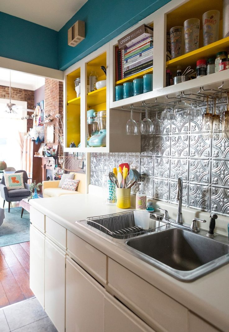 11 Ways to Add a Little Style to Your Rental Kitchen. Funky Home DecorSimple  ...