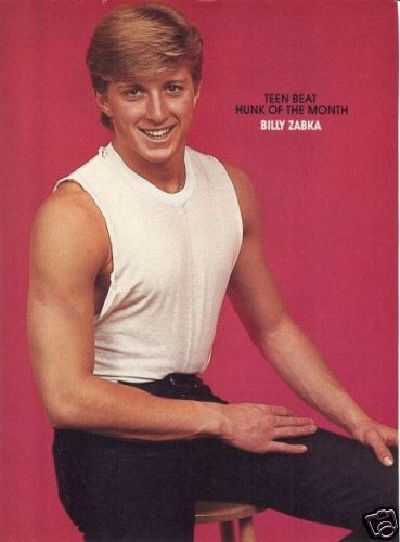 Billy Zabka; Johnny Lawrence; Karate Kid | Boys ...