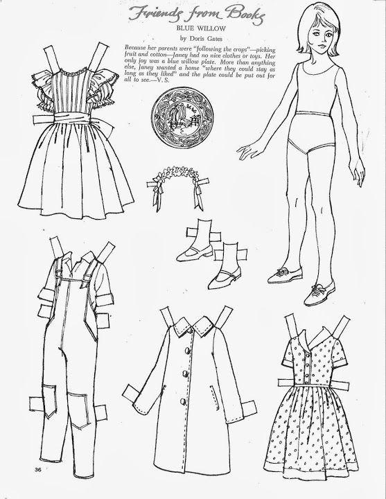 743 best paper dolls national images on Pinterest