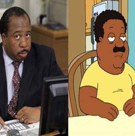 Leslie David Baker and Cleveland Brown