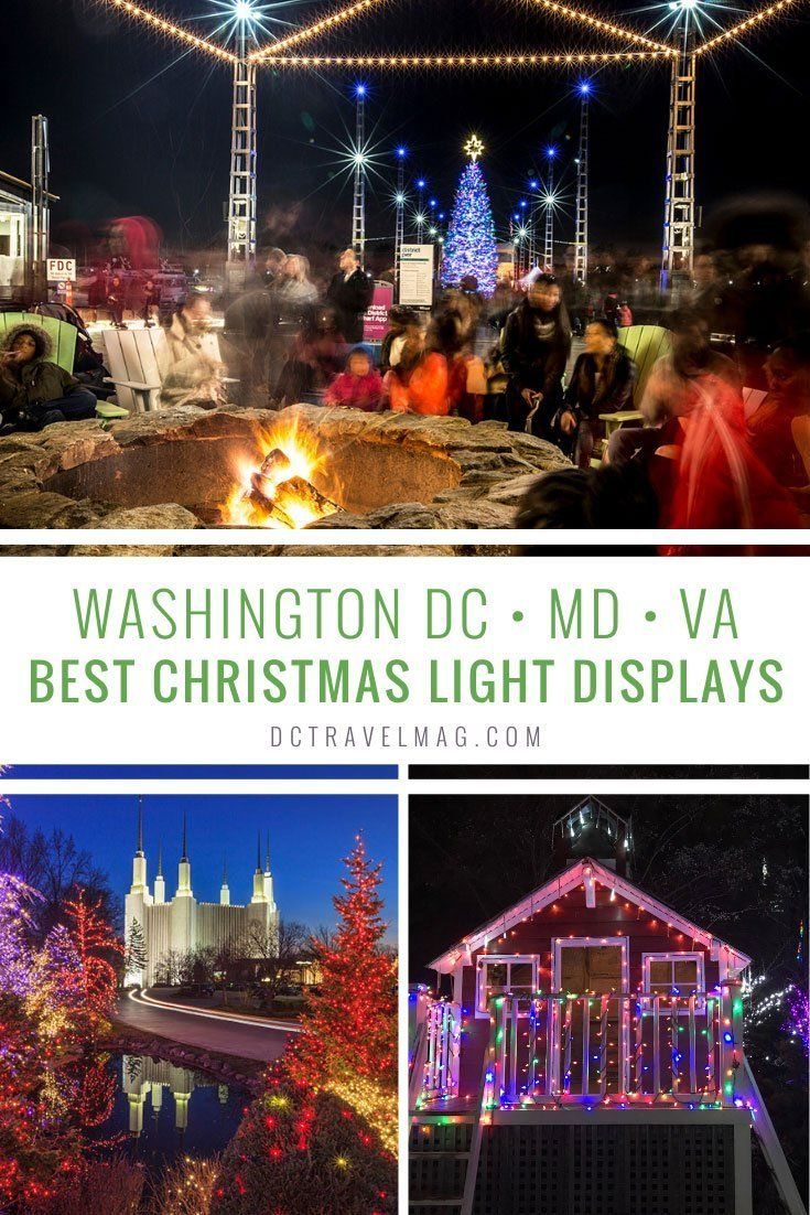 Christmas Day In Dc 2020 Christmas light displays you don't want to miss in Washington DC