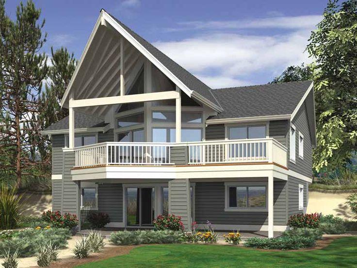 Fresh House Plans Walkout Basement Hillside