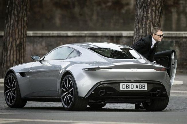 James Bond's Aston Martin DB10 e
