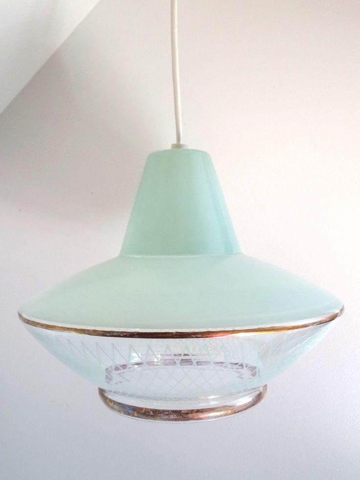 1000 images about luminaire vintage boutique broc pop for Suspension 3 branches