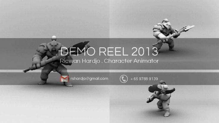 Animation Demo Reel October 2013